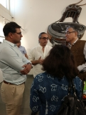 Chairman, GACL Education Soceity interacting with Board memberes of Heritage Trust