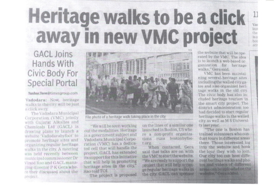 Heritage Walk VMC Project