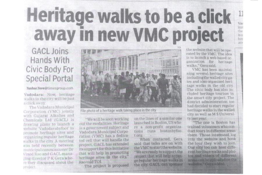Heritage Walk VMC Project